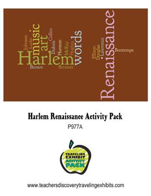 Harlem Renaissance Activity Packet Download