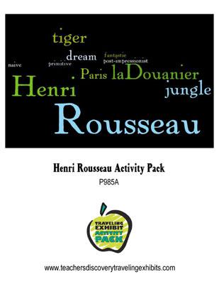 Henri Rousseau Activity Packet Download