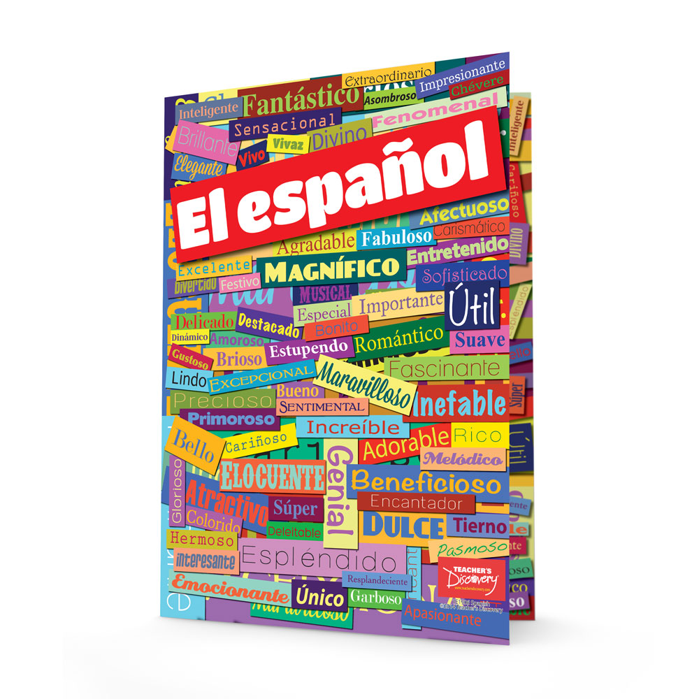 Spanish Adjectives Folders