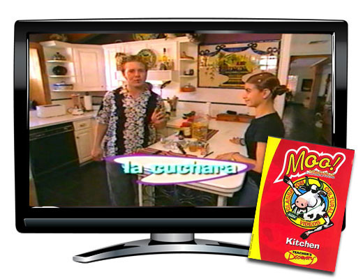 Kitchen Nouns Vocabulary DVD