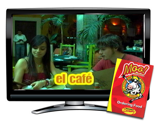 Ordering Food Vocabulary Spanish DVD