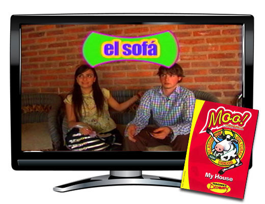 My House Vocabulary Spanish DVD