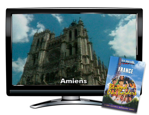 France Beyond Borders Study Guide & DVD