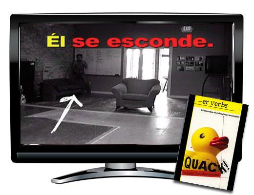 ER Verbs Spanish DVD
