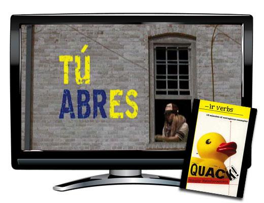 IR Verbs Spanish DVD