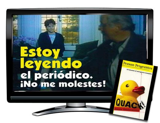 Present Progressive Spanish DVD