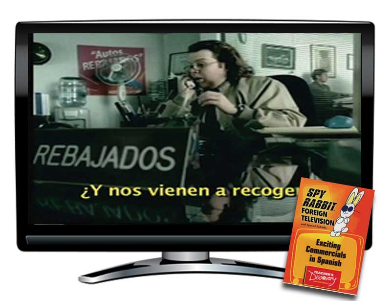 Exciting Commercials Spanish Spy Rabbit DVD