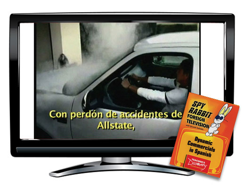 Dynamic Commercials Spanish Spy Rabbit DVD