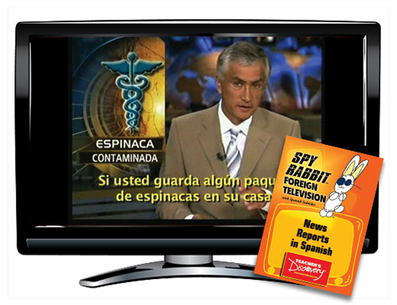 News Reports in Spanish Spy Rabbit DVD