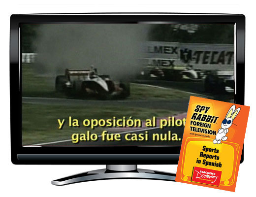 Sports Reports in Spanish Spy Rabbit DVD