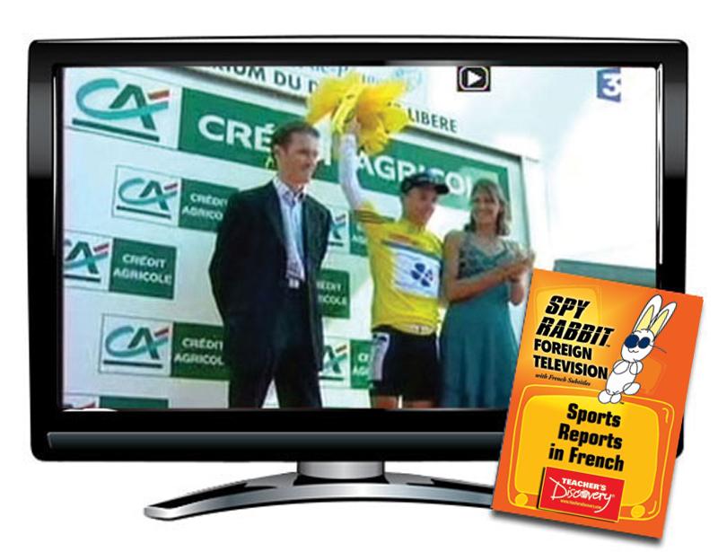 Spy Rabbit Sports French DVD