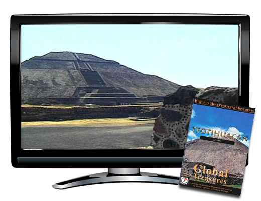 Global Treasures Teotihuacan Mexico DVD