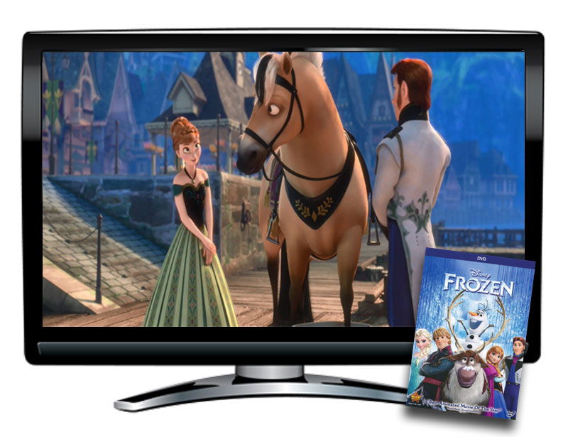 Frozen Spanish/French DVD and Activity Packet