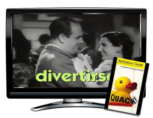 Reflexive Verbs Spanish DVD