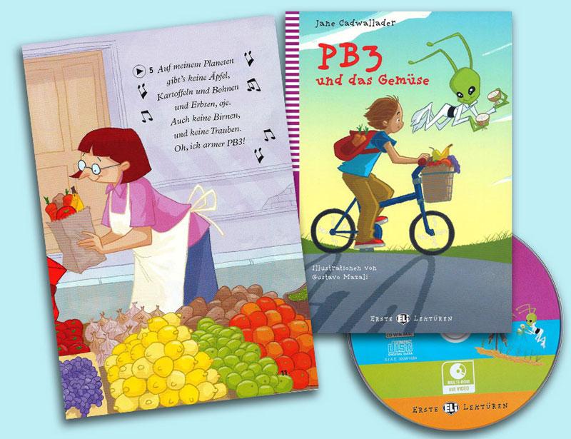 PB3 und das Gemüse Reader + Audio CD Erste Lektüren Niveau 2