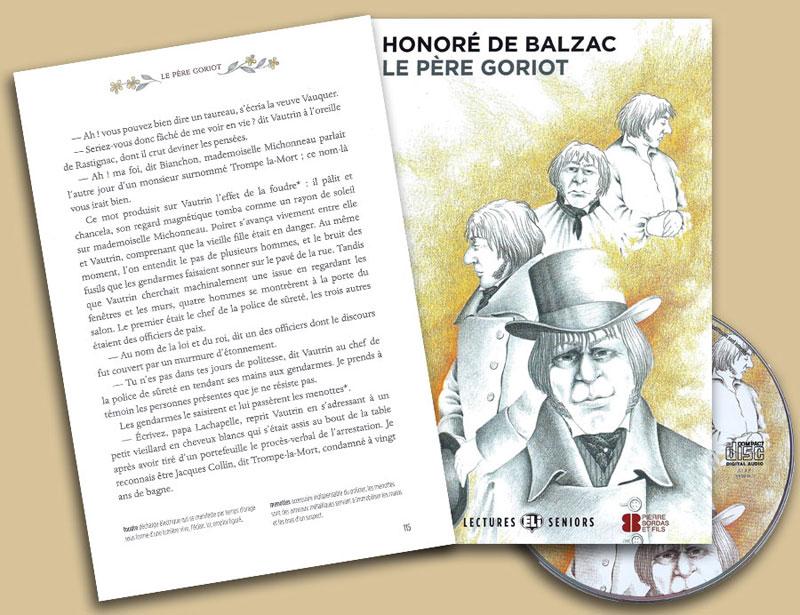 Le Pére Goriot French Reader + Audio CD Lectures Seniors Niveau 4