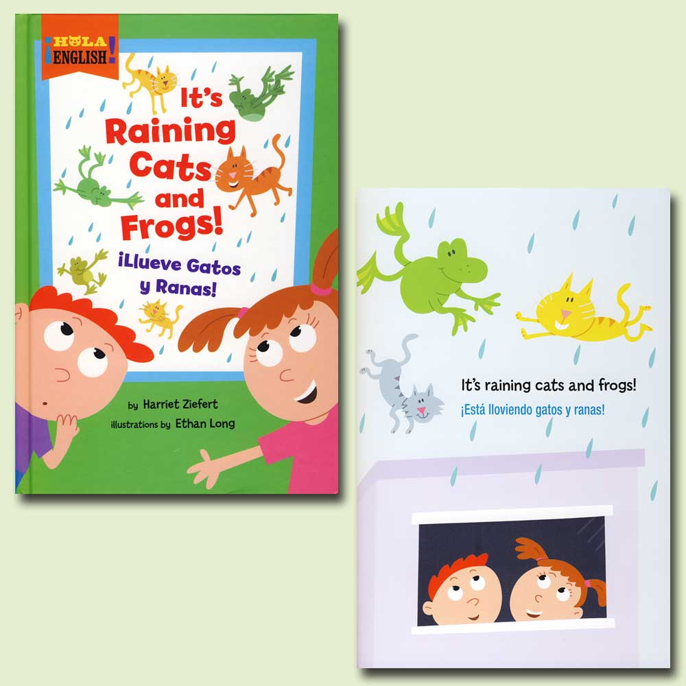 It's Raining Cats and Frogs Bilingual Storybook