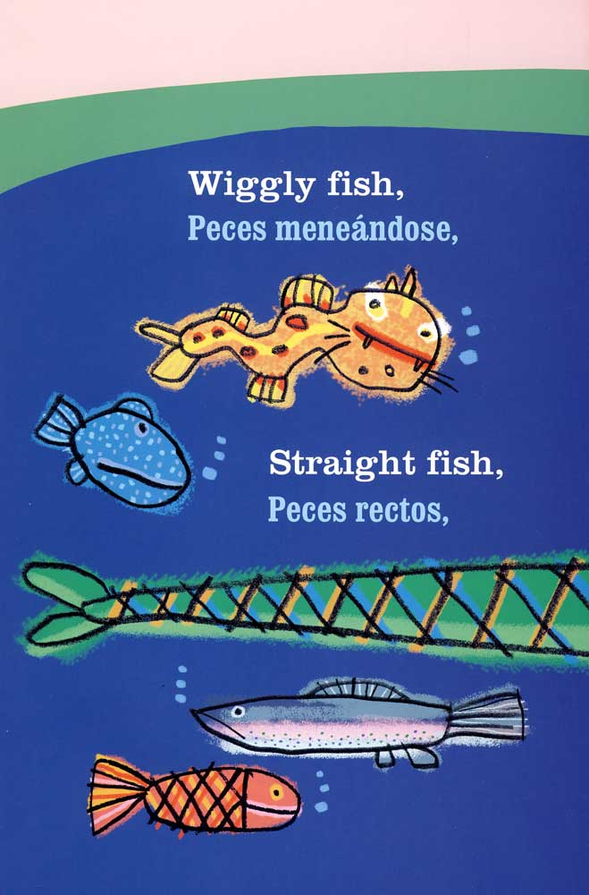 10 little fish bilingual storybook spanish teacher 39 s for Ten little fish