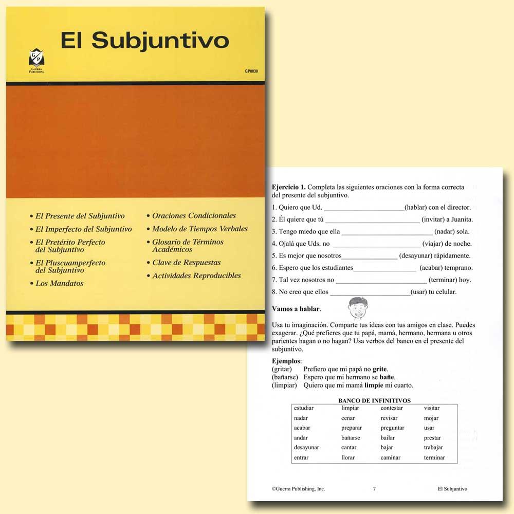 El Subjuntivo Spanish Activity Book