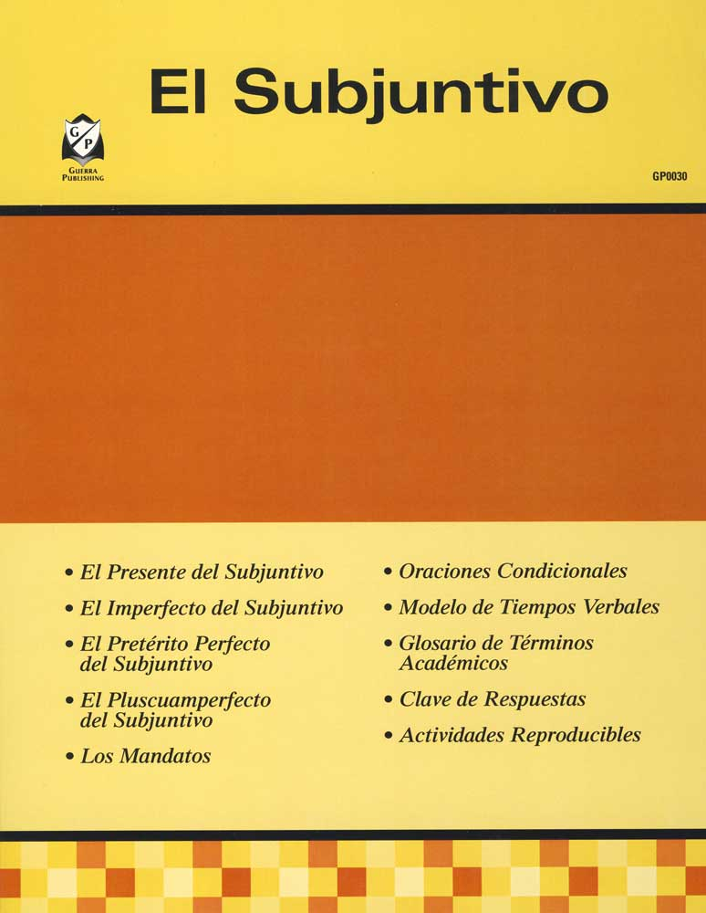 El Subjuntivo Spanish Activity Book
