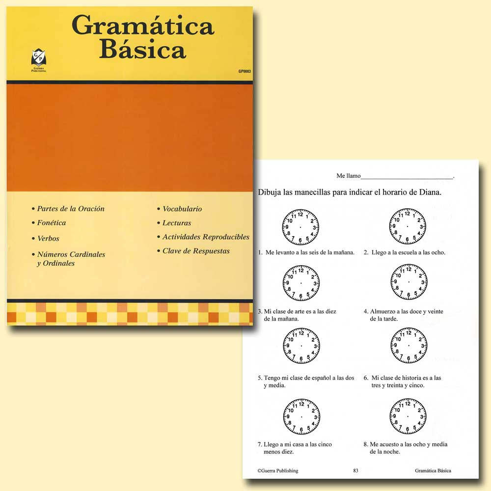 Gramática Básica Spanish Activity Book