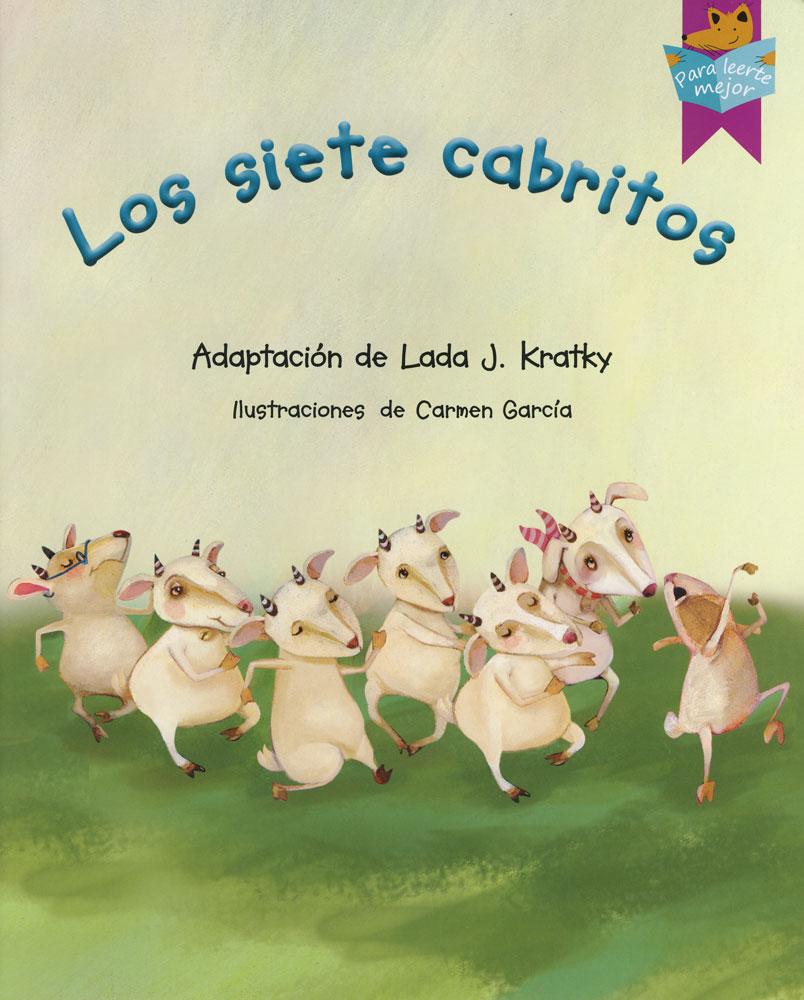 Los siete cabritos Spanish Storybook