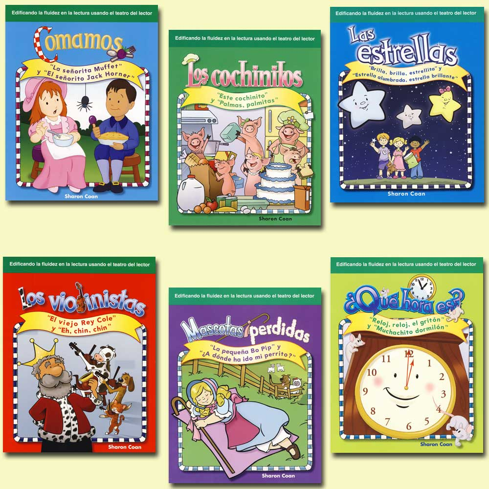 Children's Rhymes 6-Book Spanish Set
