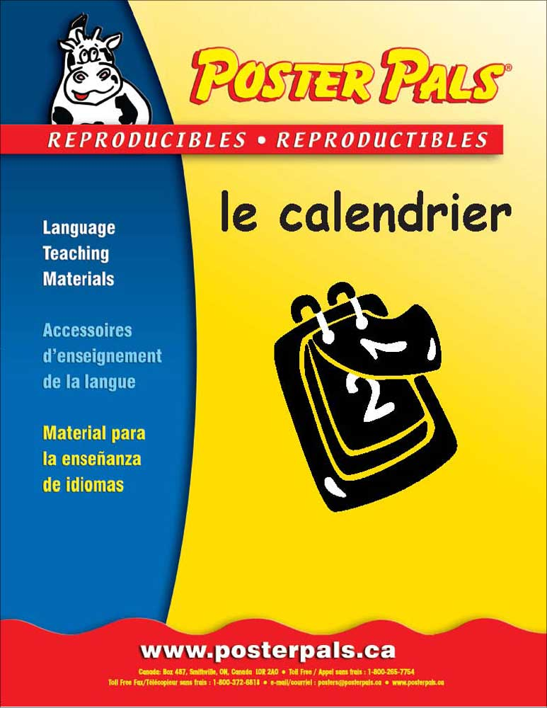 Think Kits: le calendrier French Reproducible Activity Book