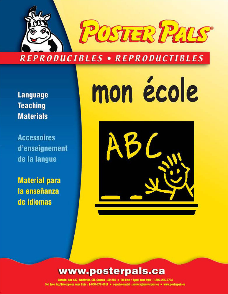 Think Kits: Mon école French Reproducible Activity Book
