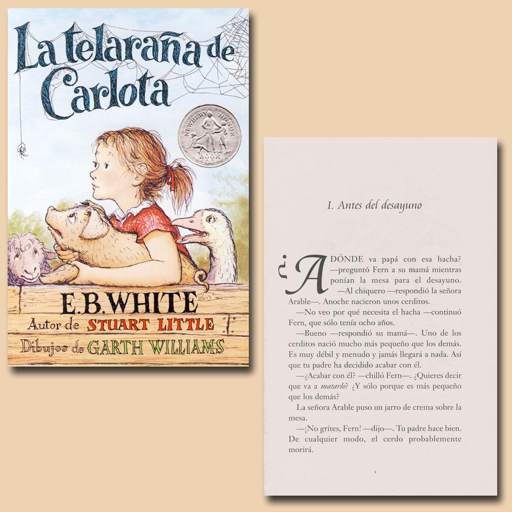 La telaraña de Carlota Spanish Reader