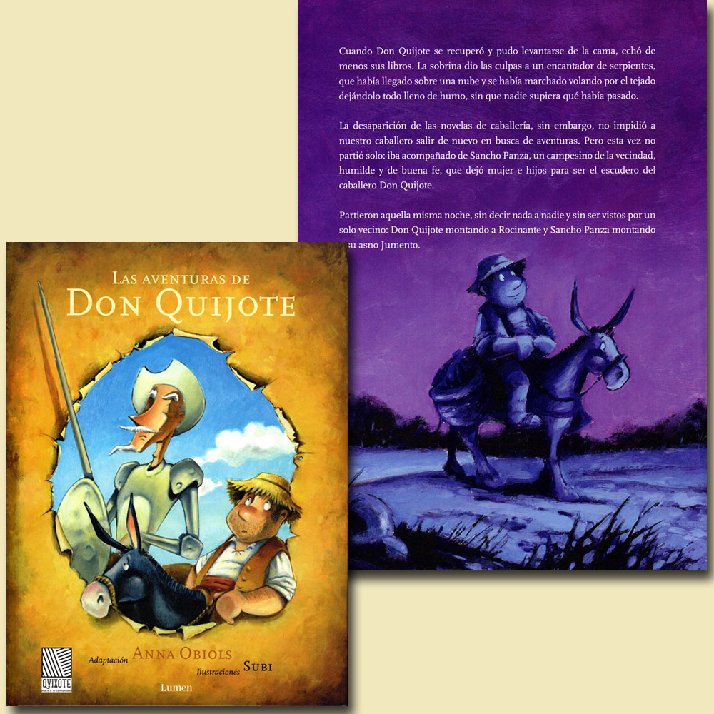 Las Adventuras de Don Quijote Book
