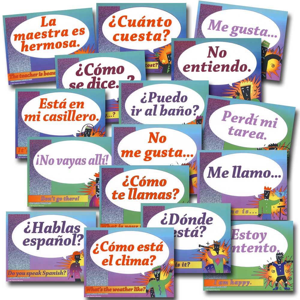 Everyday Spanish Bulletin Board Set