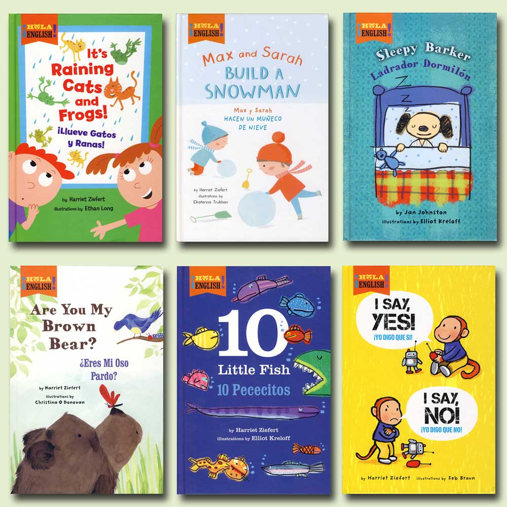 Bilingual Storybooks Set of 6