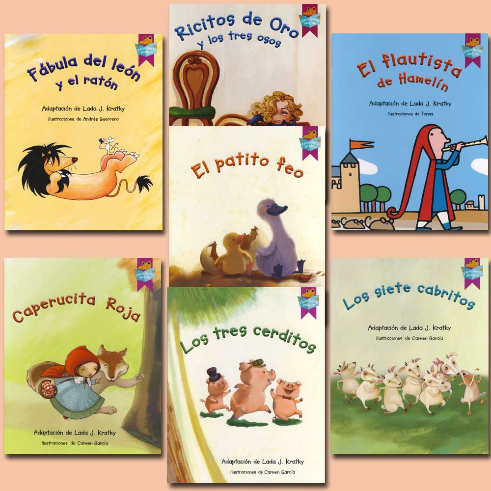 Fairy Tale Spanish Books Set of 7