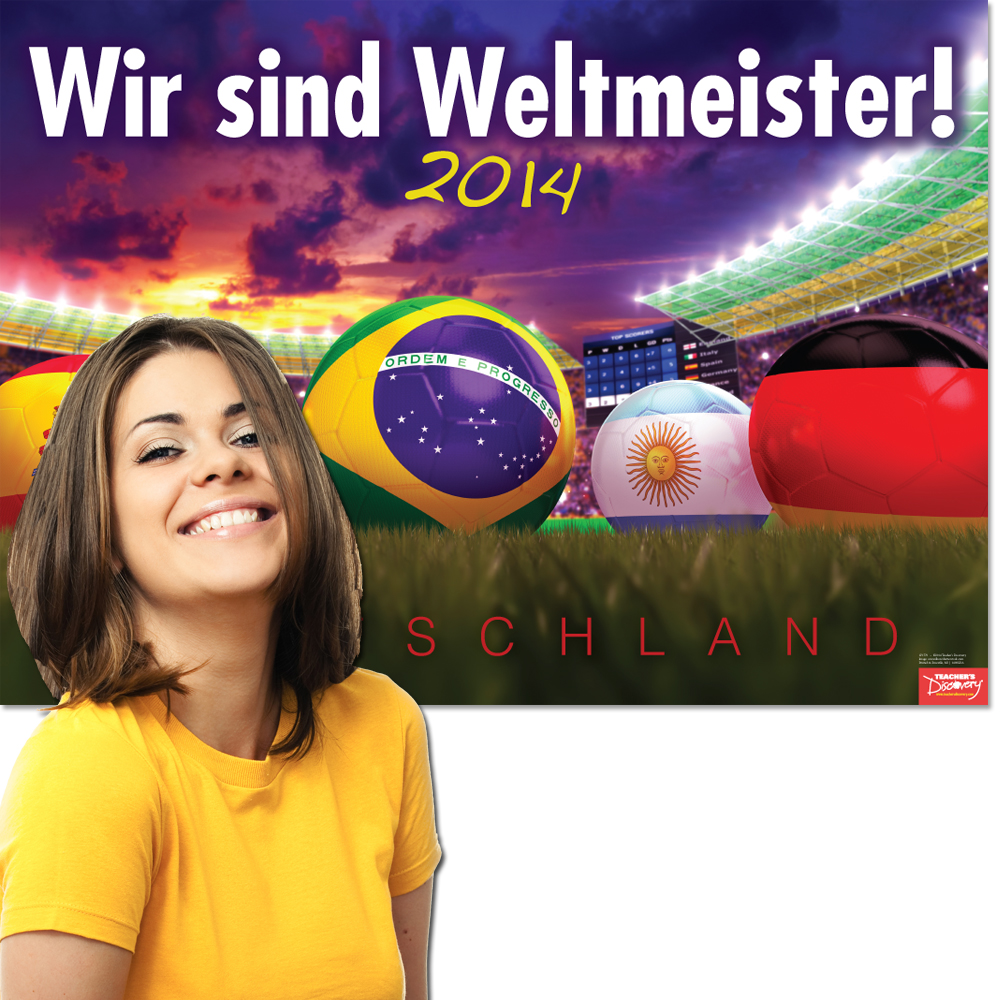 World Cup German Poster