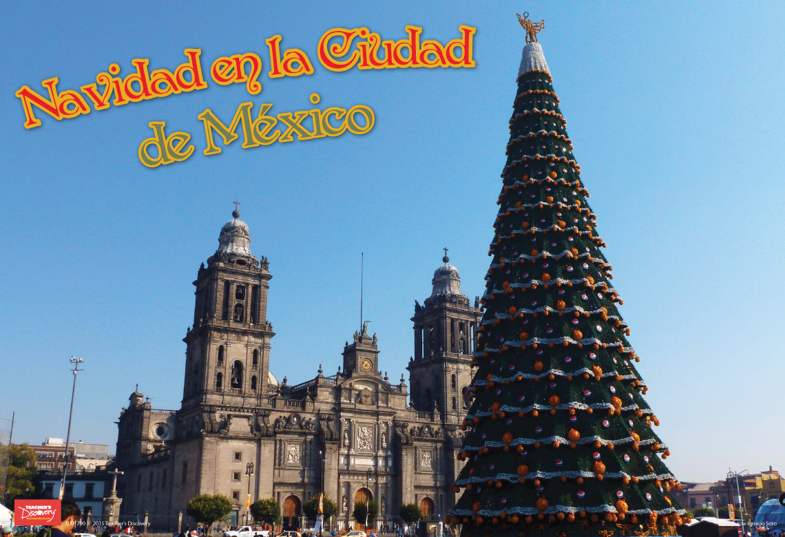 Navidad en Ciudad de México Mini-Poster