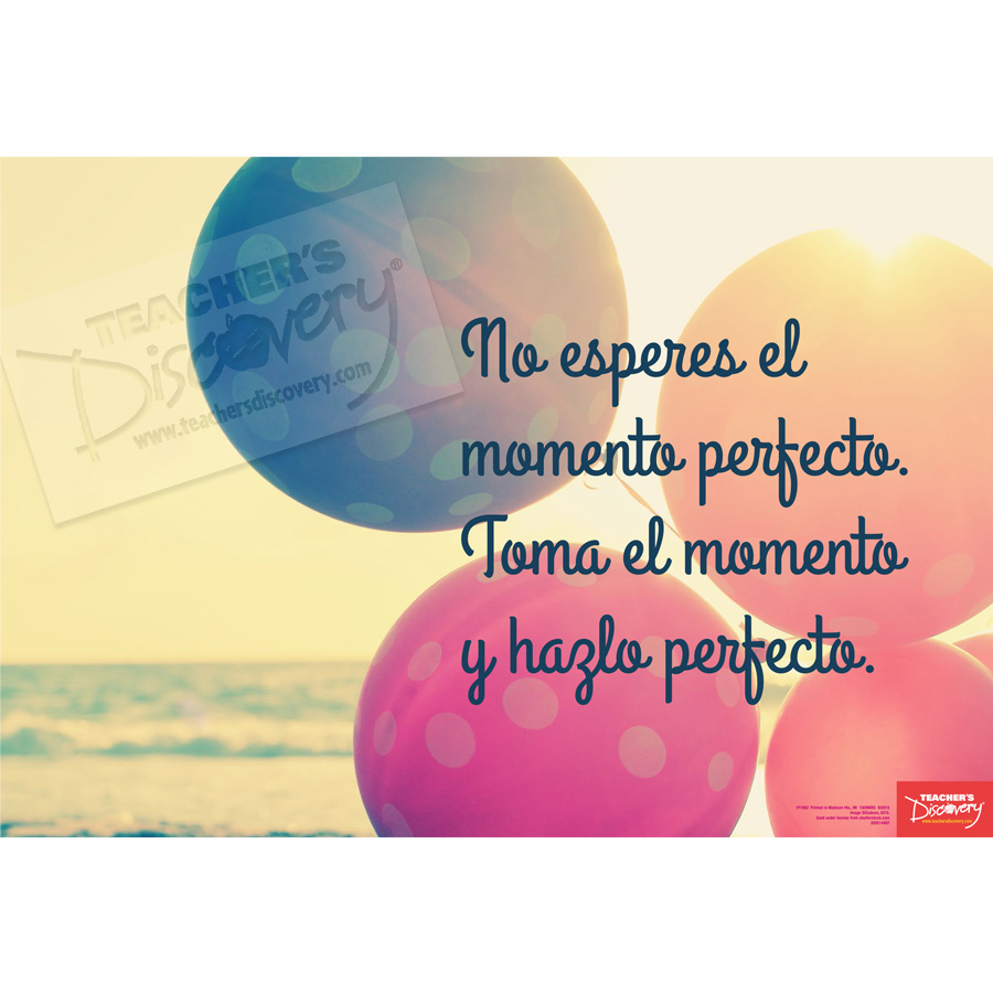 Perfect Moment Spanish Mini-Poster