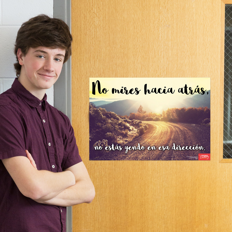 Don't Look Back Spanish Mini-Poster