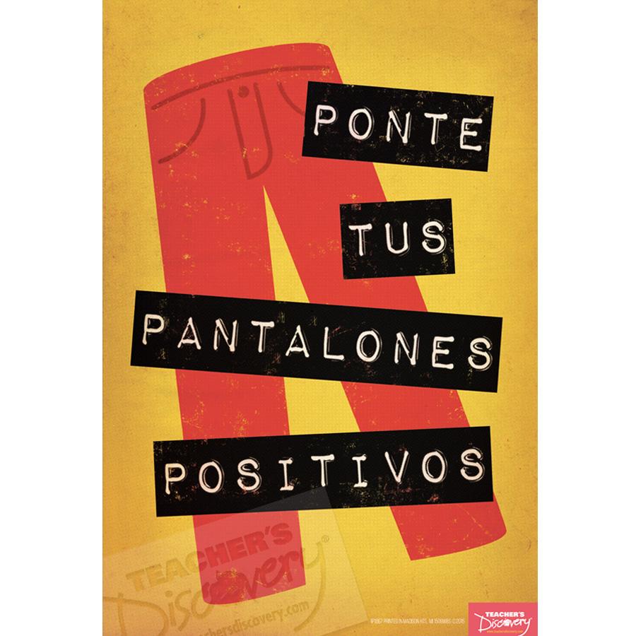 Positive Pants Spanish Mini-Poster