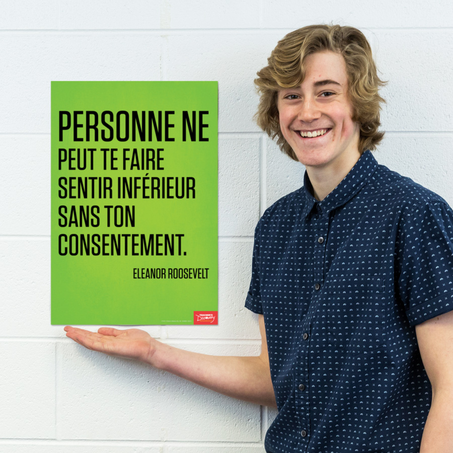 No One French Mini-Poster