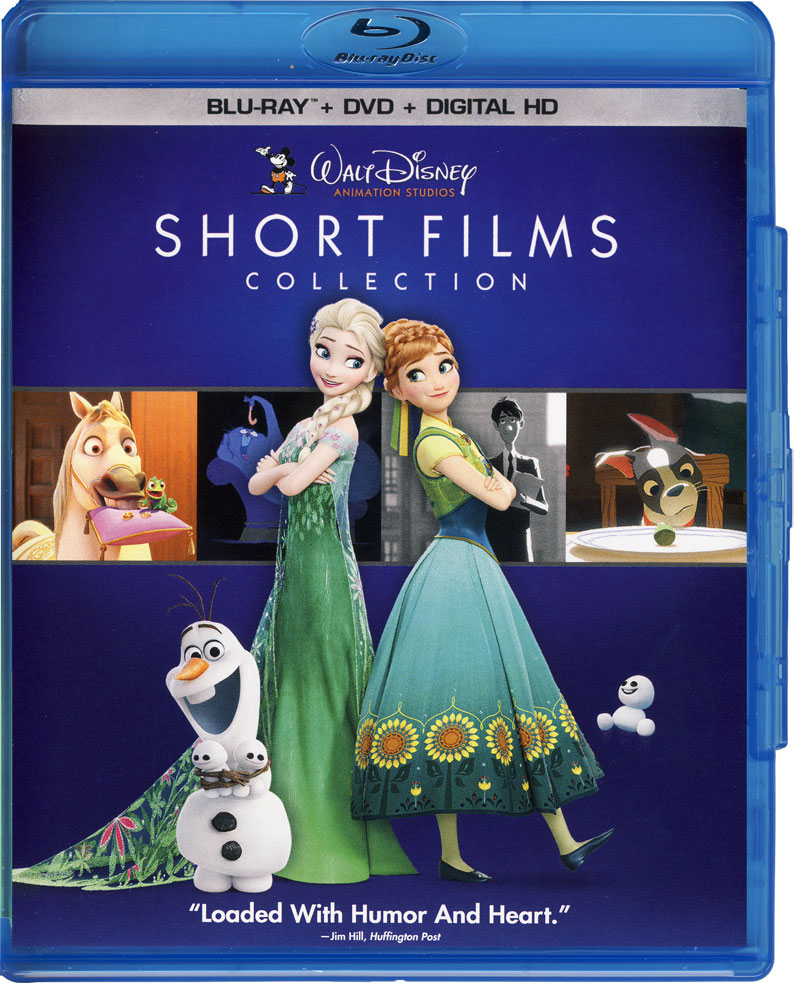 Short Films Collection Spanish/French DVD