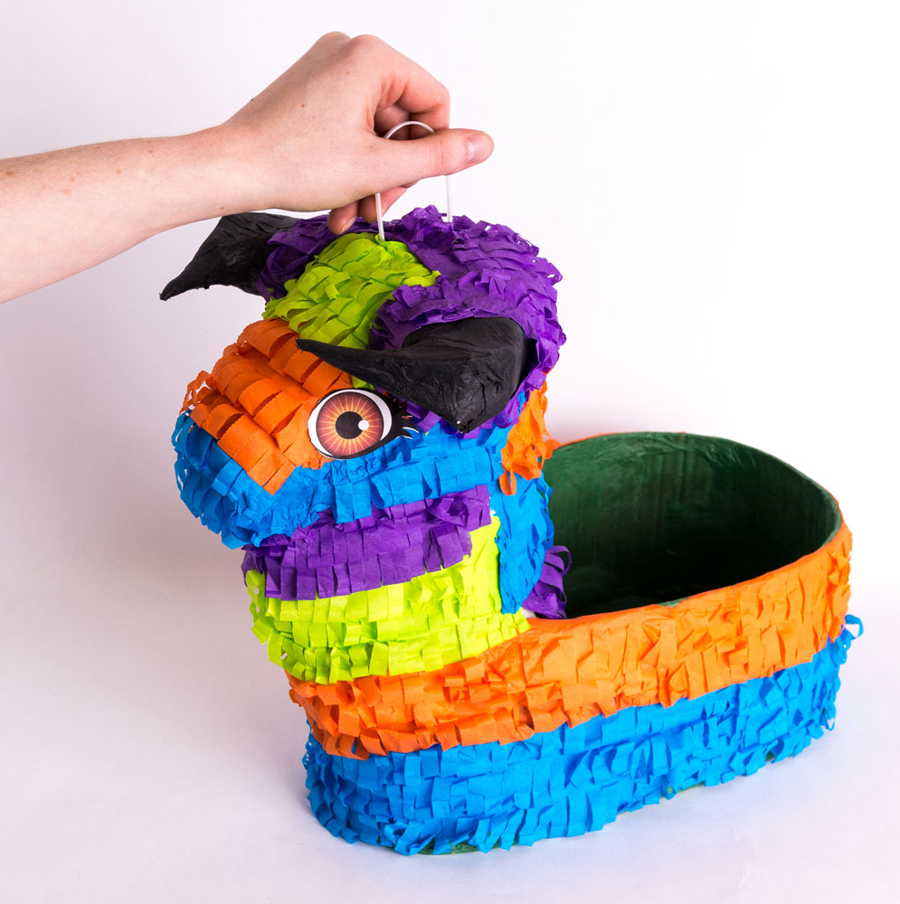 Bull Pinata Basket