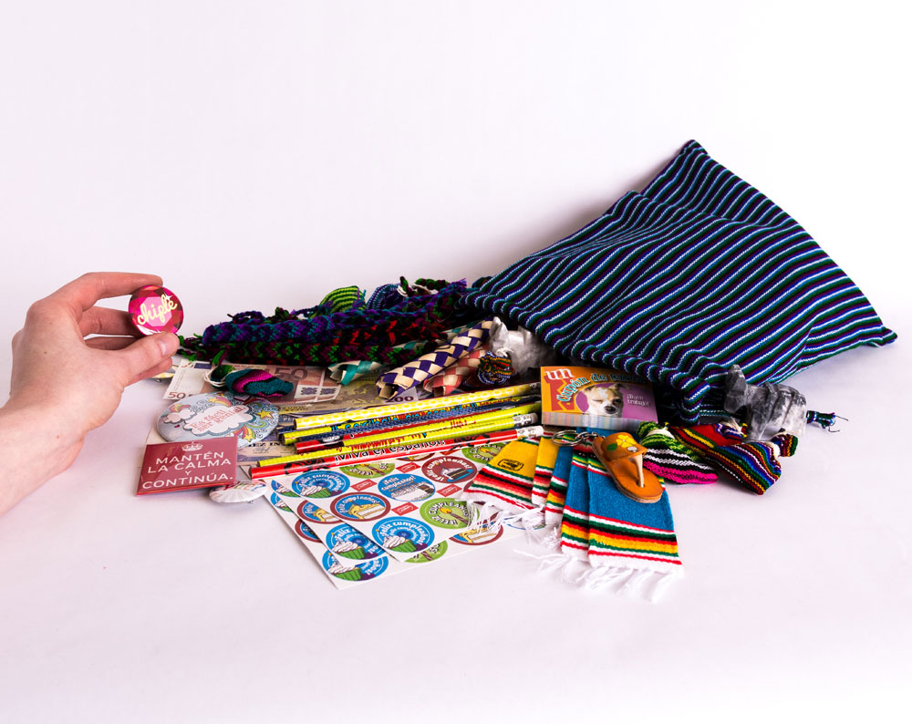Spanish Prize Bag 100 Pieces