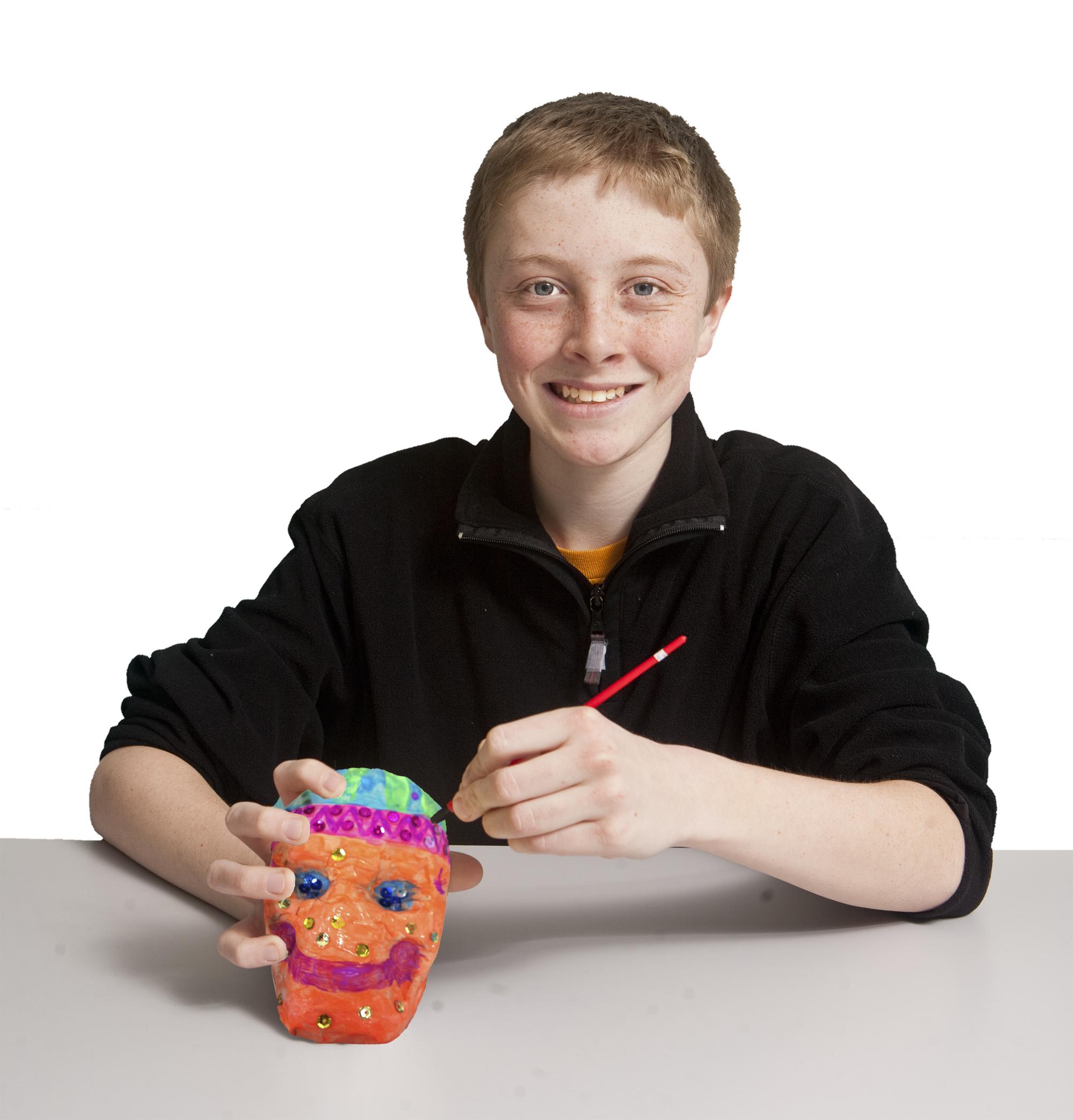 Día de los Muertos Mask Craft Kit