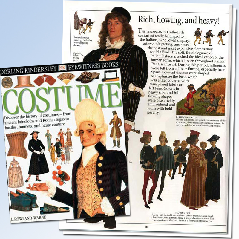 Costume Eyewitness Book