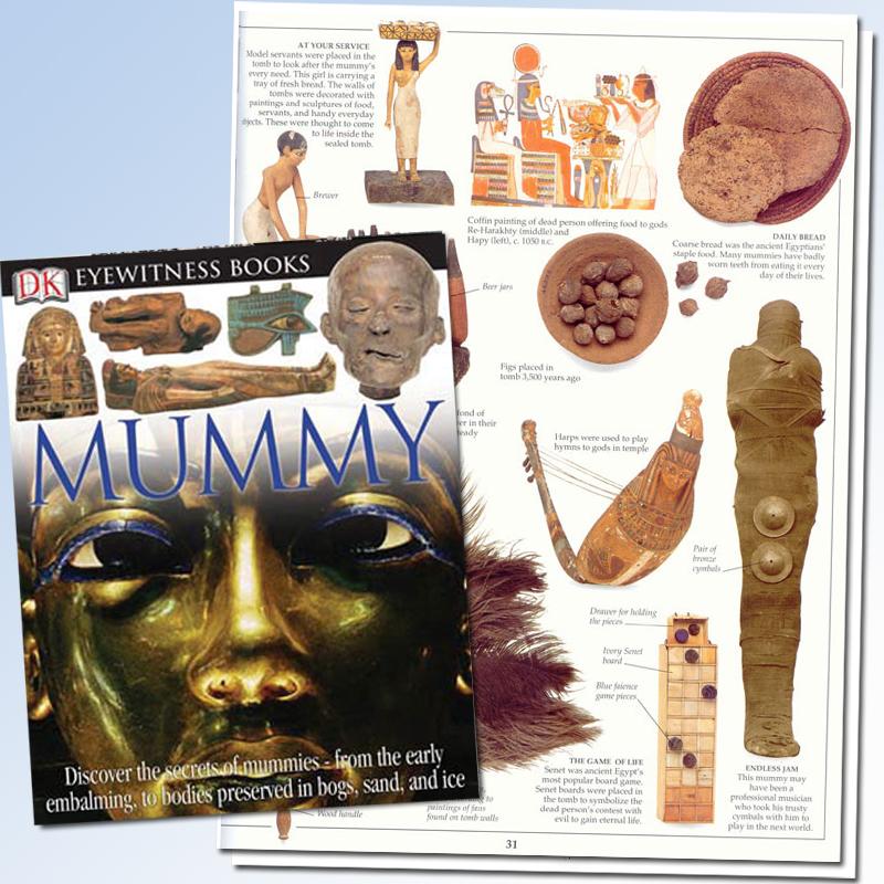 Mummy Eyewitness Book