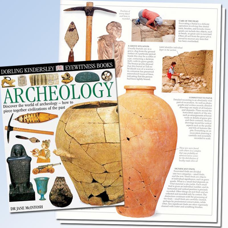Archeology Eyewitness Book