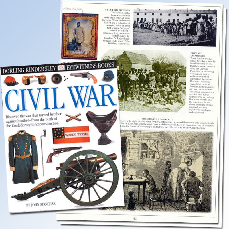 a review of david eichers book civil war battlefields Book review: a more civil war, how the union waged a just war a more civil war is well organized david woodbury was a contributing author and.
