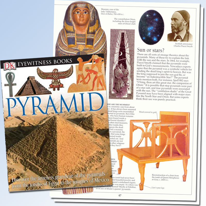 Pyramid Eyewitness Book
