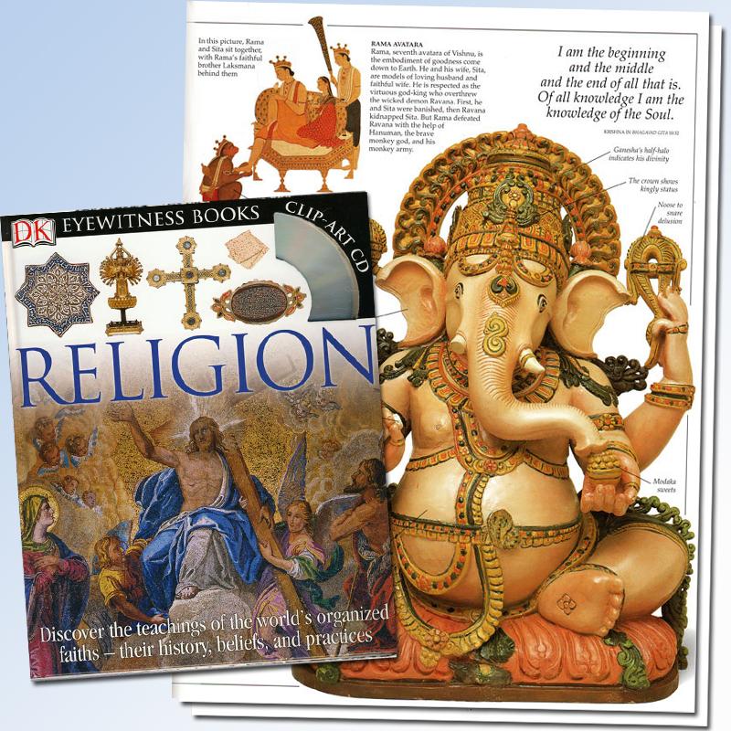 Religion Eyewitness Book